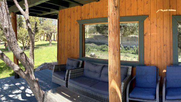 Main House Canyon View Porch